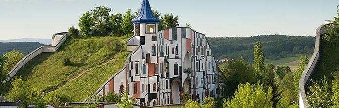 El movimiento arquitectónico de Hundertwasser