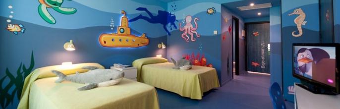 Habitaciones de película para niños