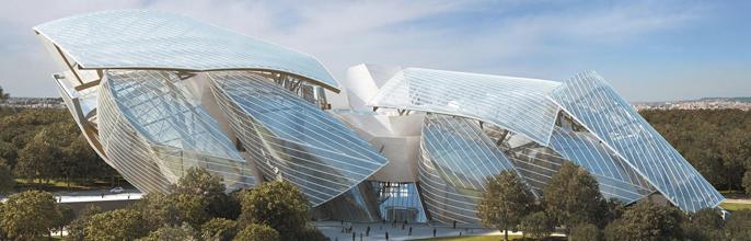 Así es la Fundación Louis Vuitton de Frank Gehry