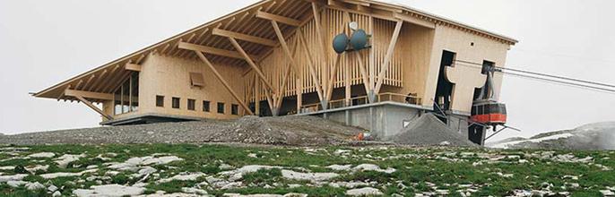 Chäserrug: El restaurante con las mejores vistas a los Alpes Suizos