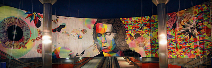 Línea Zero: El arte urbano llega al metro de Madrid